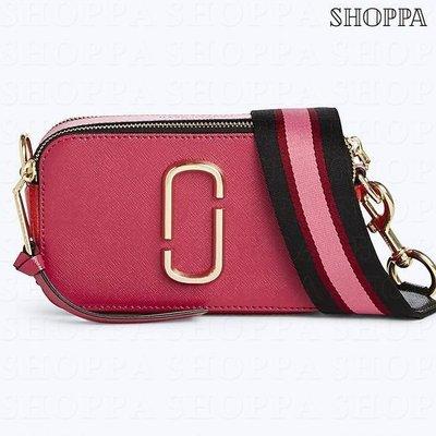 【SHOPPA】MARC JACOBS  Snapshot  皮革  相機包 深粉色 18春夏新款