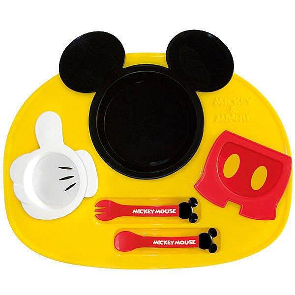 【☆婷婷窩☆】日本製 迪士尼【餐具餐碗餐盤 6件組】米奇/米妮2款特惠480元~店取/超取