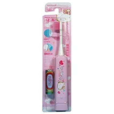 【Tokyo Speed】日本阿卡將minimum HELLO KITTY粉色兒童專用震動電動牙刷 超極細毛-現貨