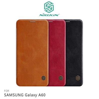 *phone寶*NILLKIN SAMSUNG Galaxy A60 秦系列皮套 側翻皮套 可插卡 超薄皮套