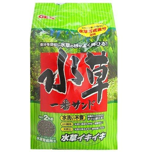 【🐱🐶培菓寵物48H出貨🐰🐹】日本《五味》水草活性底床–2kg(粗)*1包 特價250元