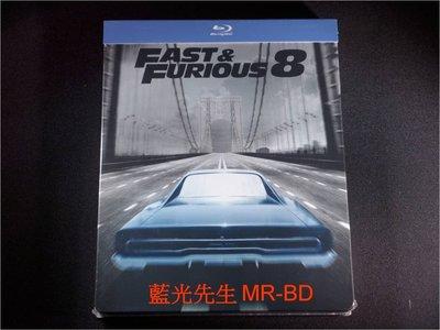 [藍光BD] - 玩命關頭8 Fast & Furious 8 限量鐵盒版