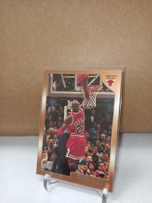1997-98 Topps Michael Jordan #77 紅衣光頭 背影 老卡