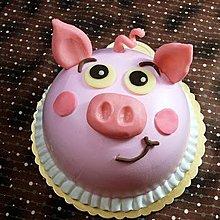 甜點兒窩廚房 豬豬蛋糕 豬頭蛋糕 造型蛋糕 生日蛋糕