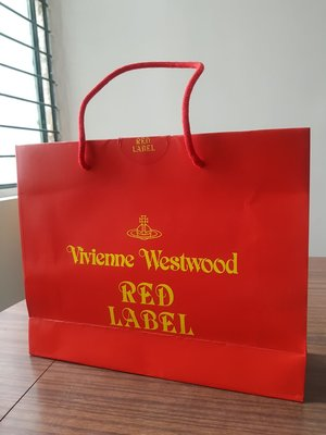 vivienne westwood red label 紙袋