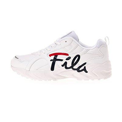 【Luxury】 Fila 新款 草寫英文LOGO 厚底鞋 老爹鞋 流線型 FS1SIB1397X 韓國代購