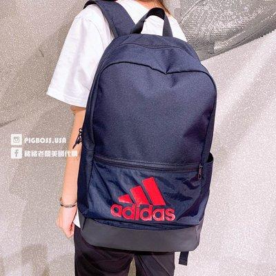 【豬豬老闆】ADIDAS CLASSIC BADGE OF SPORT 深藍 休閒 運動 雙肩包 後背包 DT2629