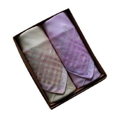 手帕禮盒 純棉方巾(兩件套)-商務時尚簡約嚴選男配件3色73gd1[獨家進口][米蘭精品]