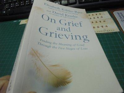 on grief and grieving 英文平裝讀本位大一美美書房