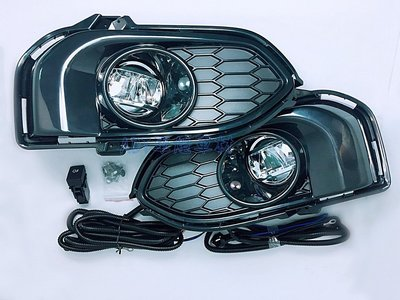 ~~ADT.車材.車材~~HONDA FIT 3.5代 17 18 19 LED霧燈含外框+線組開關 台灣保固2年