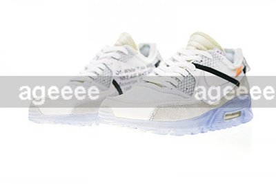 low priced cc753 93a58 Nike Air MAX 90 X Off White The 10 Ten 聯名白灰AA7293-100