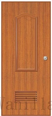 [廣山門窗] P71波音柚木塑鋼門-廁所門 浴室門 南亞塑鋼門  房間門 房門 臥室門  (含五金)