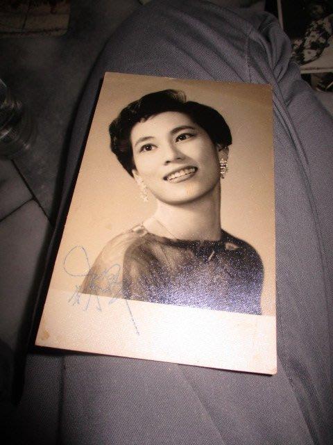 林翠..老簽名..藝人