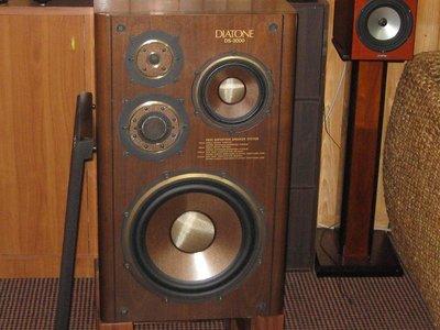 DIATONE DS-3000 大通 日本 喇叭 經典 ( 雅瑟,Focal, Dynaudio, , B&W)