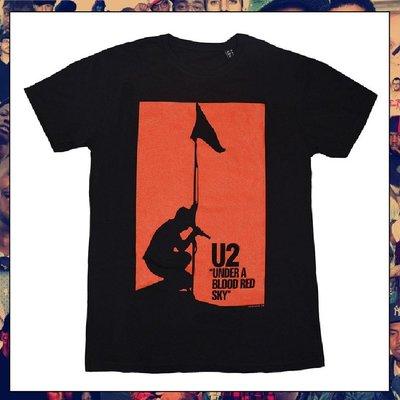 【三分之二】U2 Blood Red Sky //復古潮流/Tee