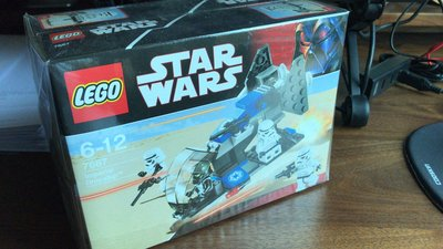 Lego  7667 全新 靚盒 star war (2盒)