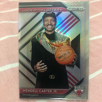 Wendell Carter Jr. 2018-19 Prizm Luck Of The Lottery  Prizms Silver 卡特 新人 銀亮