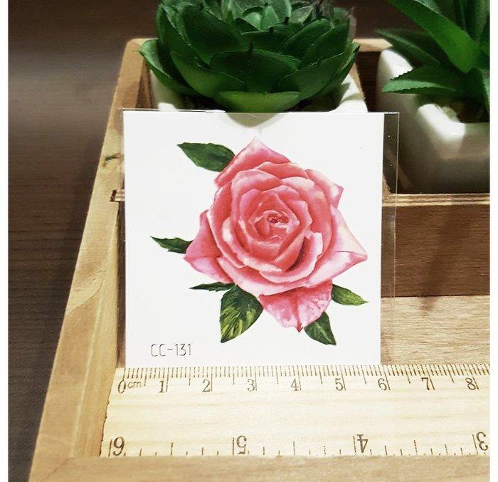 【萌古屋】花朵單圖CC-131 - 防水紋身貼紙刺青貼紙K38