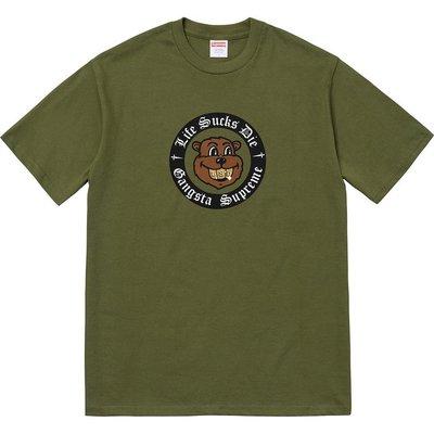 【紐約范特西】預購 2018 FW Supreme Life Sucks Die Tee 短t恤