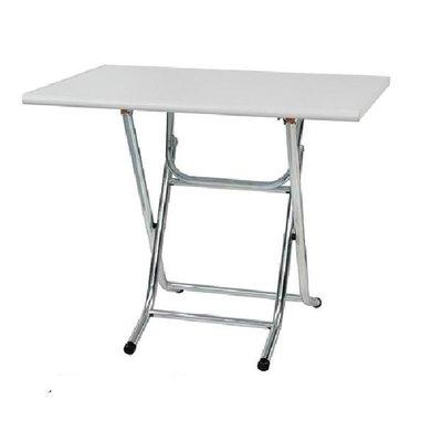 ~巧匠家具批發廣場~14176-699-17  塑鋼科技 3x 2尺白色長方形折合式高腳餐桌~