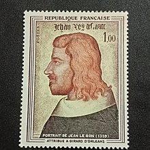 【 亂世奇蹟 】1964年法國藝術 名畫郵票__602
