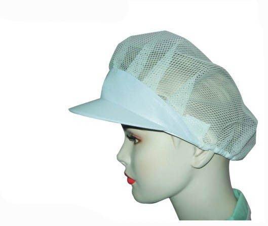 ☆°萊亞生活館 【工作帽11(女帽)】。帽子。頭套。網帽。食品帽-ONE SIZE
