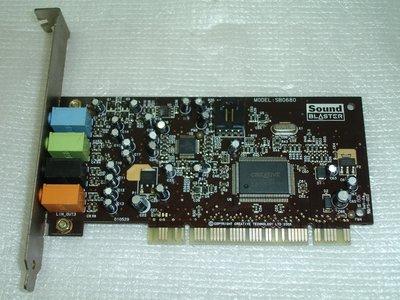 【電腦零件補給站 】Creative Labs Sound Blaster 5.1 SB0680 PCI音效卡