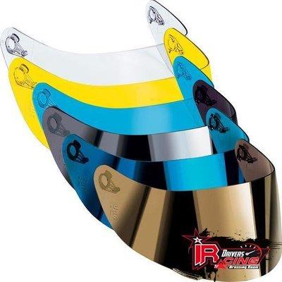 ♚賽車手的試衣間♚ AGV® AGV Race-X ( GP-Tech T-2 使用) 電鍍片 鏡片