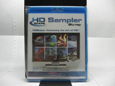 【正版BD】HDScape Sampler(HDScape Sampler) 美版. ※無中文字幕. ☆已拆如新