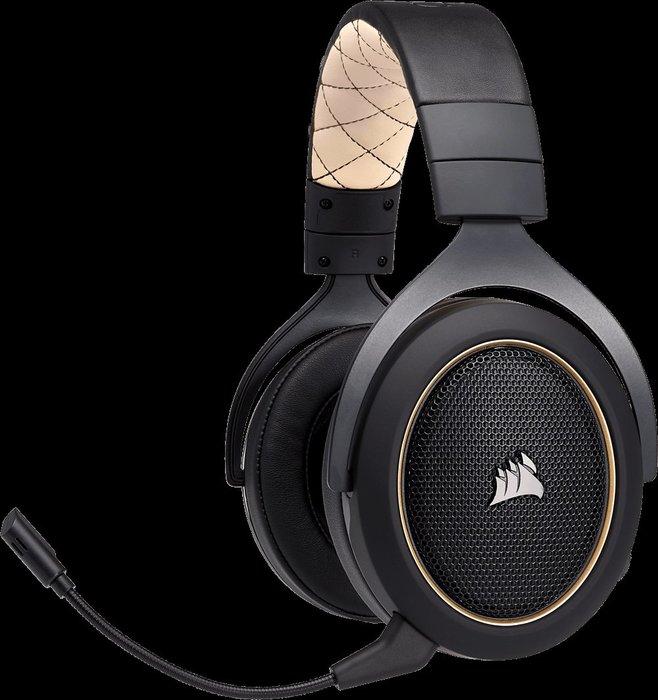 [ 邁克電腦 ]Corsair 海盜船 HS70  無線 7.1 聲道 耳機 麥克風 [PC][PS4] 使用達16小時