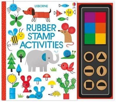 *小貝比的家*RUBBER STAMP ACTIVITIES/精裝/3~6歲/操作書