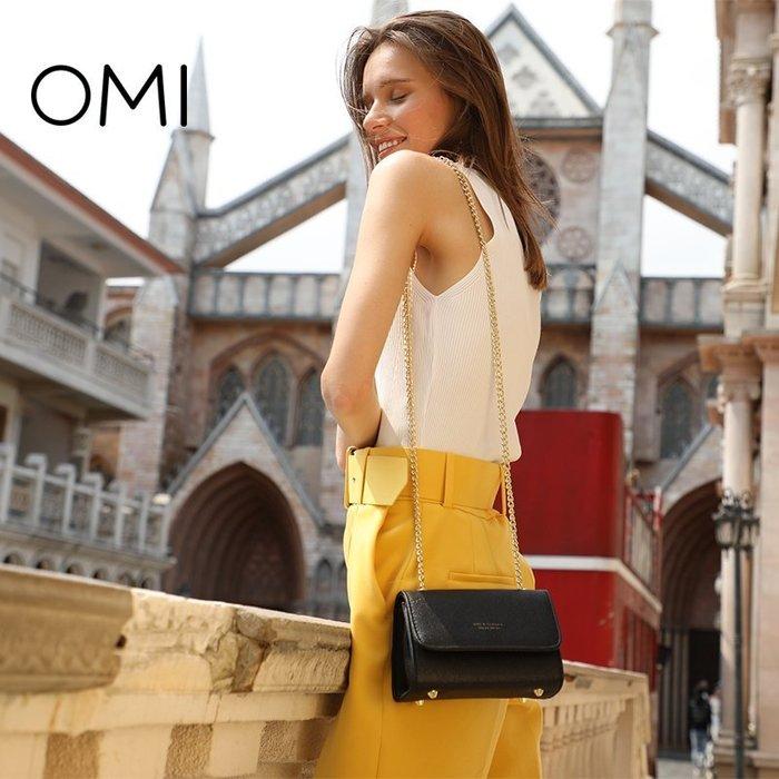 〖起點數碼〗歐米OMI包包女潮 韓版 斜挎小包鏈條單肩女包小包