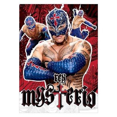 ☆阿Su倉庫☆WWE摔角 Rey Mysterio 5x7 Unsigned Photo 619彩色圖卡照片 熱賣特價中
