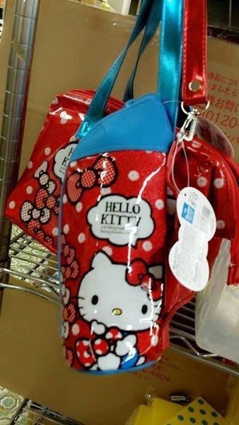 ~河馬家族~日本帶回_Hello KITTY水壺收納袋分售☆現貨