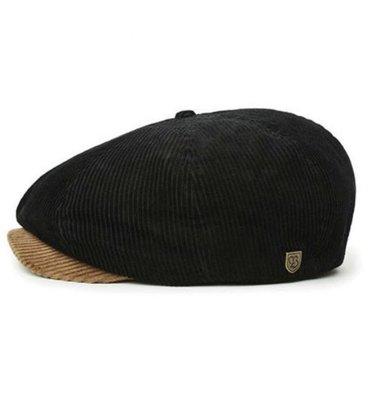 全新 現貨L Brixton brood cord newsboy 燈芯絨 絨布 報童帽 復古 騎士 滑板 衝浪 土黃黑