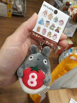 原裝 日本 宮崎駿 系列 Totoro 龍貓 月份 表達 公仔吊飾 拉鏈扣 生日公仔 吊墜 8月份 August