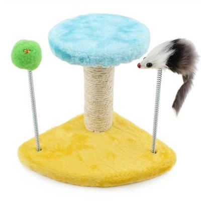 貓跳台 貓玩具貓抓板小型貓爬架貓架劍麻...