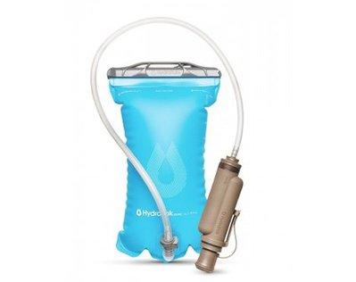 騎跑泳/勇者-HydraPak PROPEL 2公升背包水袋.可翻洗,單手擠壓(不必吸吮,即可飲用)式水管,甜酒藍色.