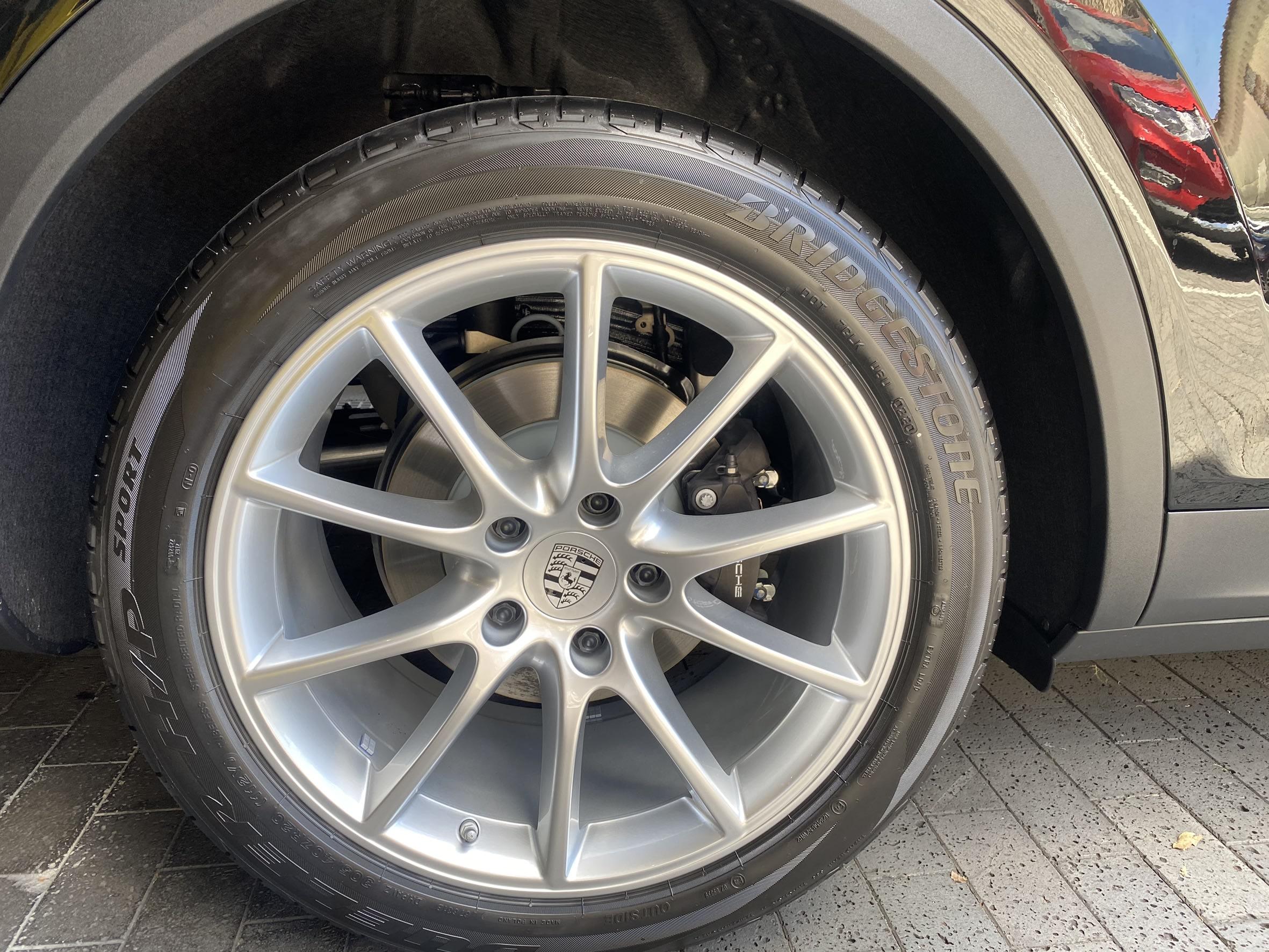 保時捷 Cayenne Coupe 20吋鋁圈含胎 落地胎 前後配 普利司通 E3及958可裝