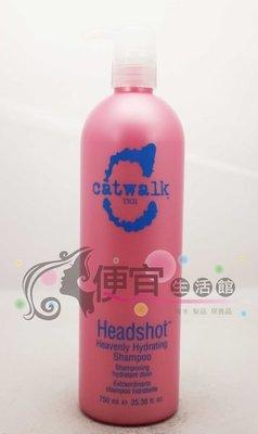 便宜生活館【洗髮精】TIGI 柔亮洗髮精750ml 提供華順與光澤感 提基國際公司貨