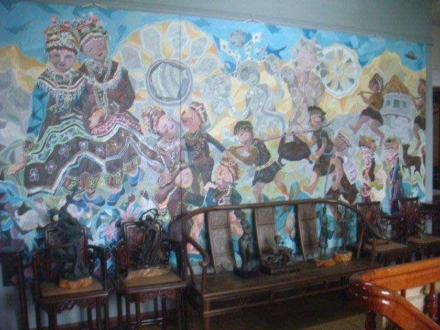 畫家作品及各類古董文物酸枝木床桌椅銅木雕收藏割讓典藏(免費參觀)歡迎藝文之旅