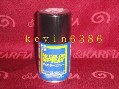 東京都-日本 郡氏 GUNZE Mr.COLOR SPRAY GS02 噴漆 光澤黑色 現貨