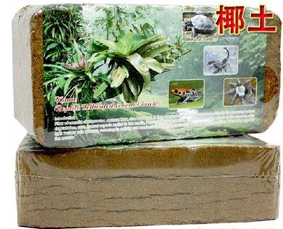 爬寵用品蜘蛛守宮黃緣蜥蜴用椰磚椰土無菌土墊材紅玫瑰蜘蛛椰土