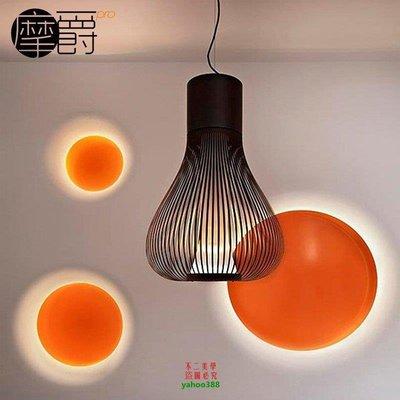 【美學】洋蔥頭吊燈打蛋機餐廳客廳臥室鐵藝籠子後現代吊燈CMX_1142 台北市
