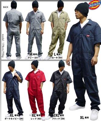 [Surprising Shop] 經典工作褲品牌 DICKIES 33999 美國空運短袖連身工作服 現貨+預購