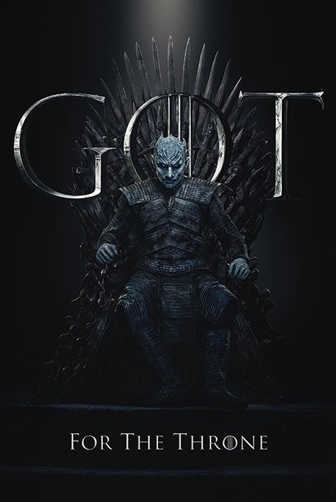 英國進口海報 PP34493 ( 權力遊戲 Game Of Thrones (The Night King))