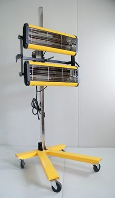 (汽車側身)    2燈鍍膜專用短波紅外線烤燈 SD-201 $10000 免運費 保固一年