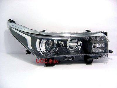 【UCC車趴】TOYOTA 豐田 COROLLA ALTIS 13 15 14 16原廠型Z版 投射LED大燈 TYC製 高雄市