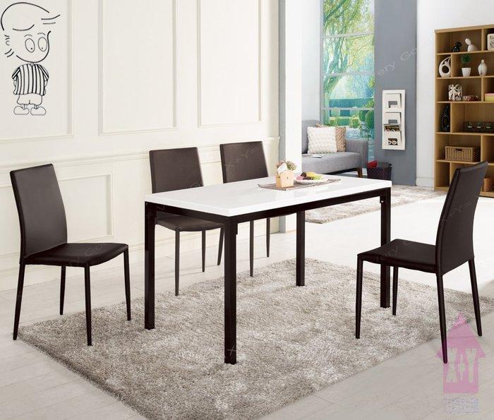 【X+Y時尚精品傢俱】現代餐桌椅系列-蜜雪兒 4尺石面餐桌不含餐椅-適合居家. 餐飲.摩登家具