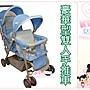 麗嬰兒童玩具館~ST- BABY 豪華型雙人手推車...